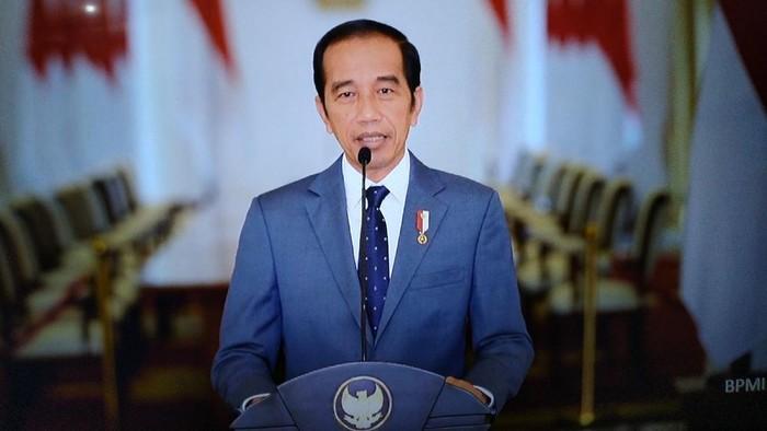Presiden Jokowi dalam video yang diputar di acara peringatan HUT ke-22 PAN.