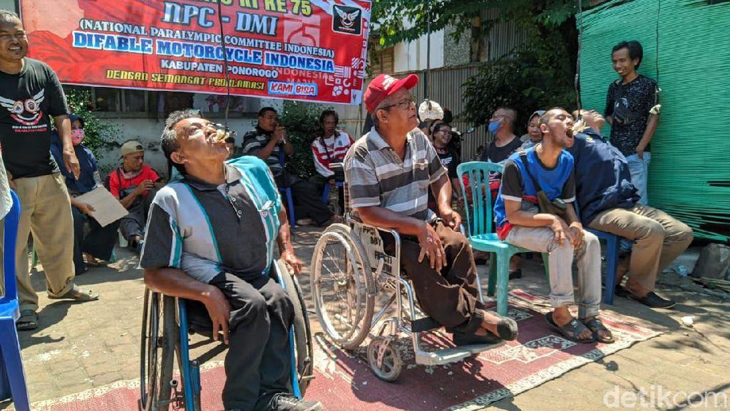 Menengok Penyandang Disabilitas di Ponorogo Rayakan HUT RI