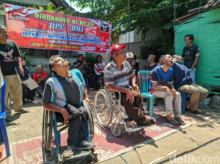 Serunya Penyandang Disabilitas Rayakan Kemerdekaan RI