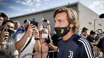Pirlo Jalani Hari Pertama Latih Juventus, Difoto Bareng Ronaldo