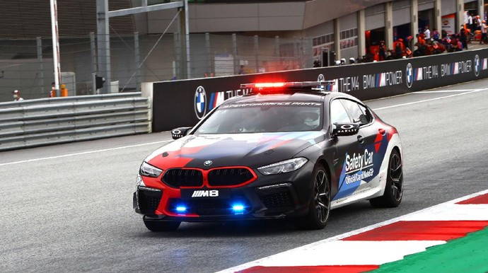 BMW M8 Gran Coupe MotoGP Safety Car