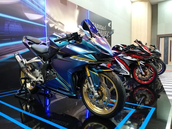 Contoh modifikasi Honda CBR250RR SP Quick Shifter