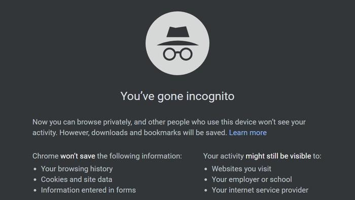 Berikut ini adalah beberapa manfaat menggunakan Google Incognito, melansir BD Tech Talks.