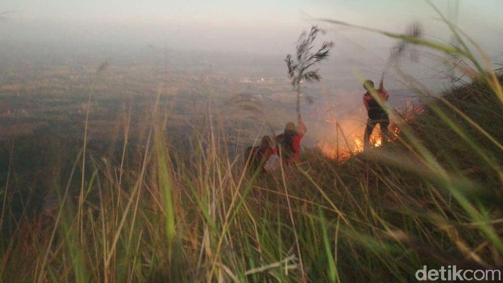 Gunung Penanggungan Terbakar, Jalur Pendakian Ditutup Sementara