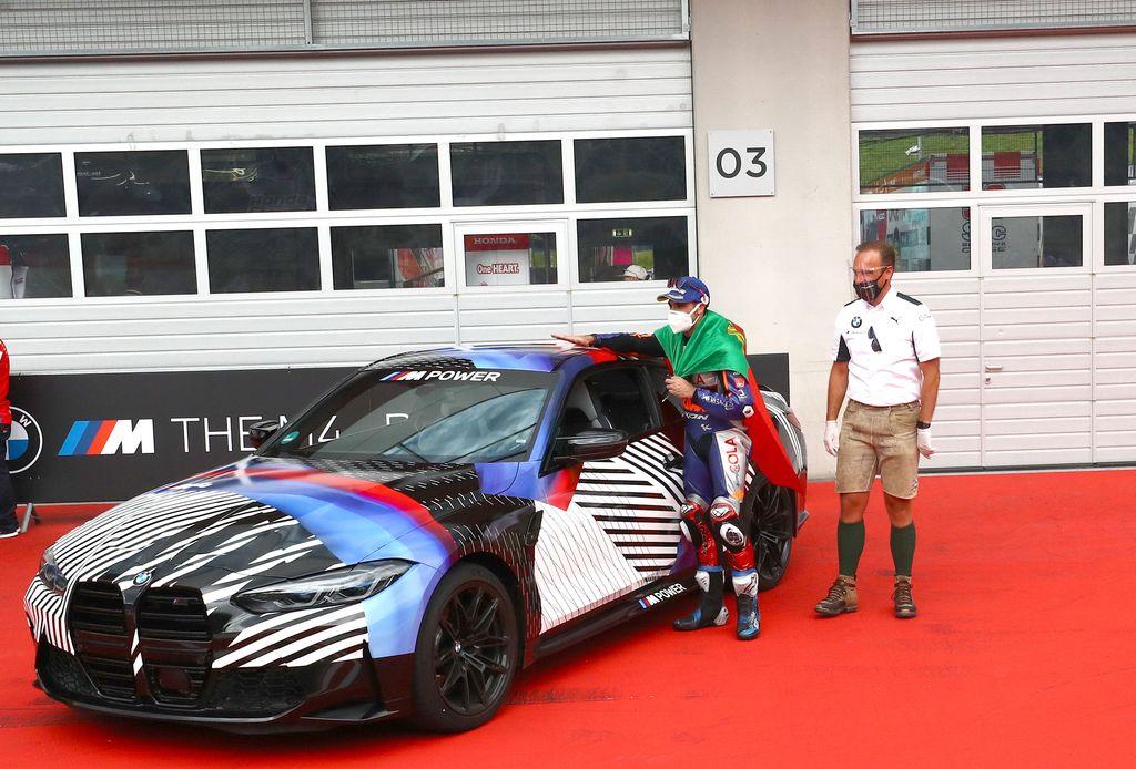 Juara MotoGP Styria, Miguel Oliveira Dapat BMW M4