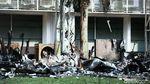 Kebakaran Gedung Kejagung Sisakan Puing dan Jelaga