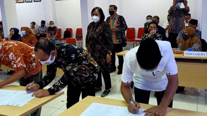 KPU Kabupaten Blitar Sebut Pemeriksaan Kesehatan Bapaslon Pilbup di RS Saiful Anwar Malang