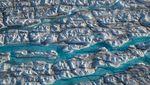 Ratusan Miliar Ton Es Greenland Mencair Imbas Perubahan Iklim