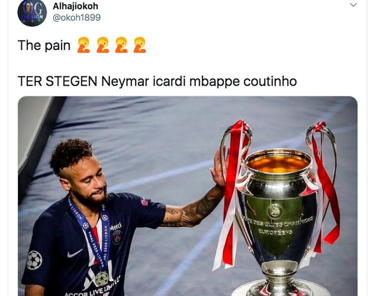 Meme Neymar Gagal