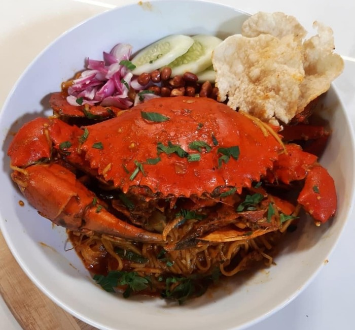 Mie Kepiting Aceh