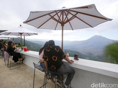Potret Tempat Nongkrong Hits di Kintamani Bali