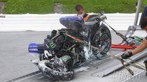 Kasihan Vinales: Crash karena Rem, Sekarang Terancam Kehilangan Mesin Lagi
