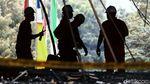 Polisi Olah TKP Cari Penyebab Kebakaran Gedung Kejagung