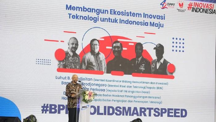 Kepala BPPT Hamam Riza dalam Ultah BPPT Tahun 2020