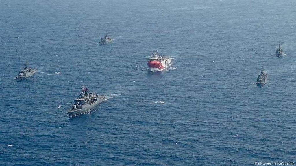 Panas Turki vs Yunani Merambah ke Laut Lepas