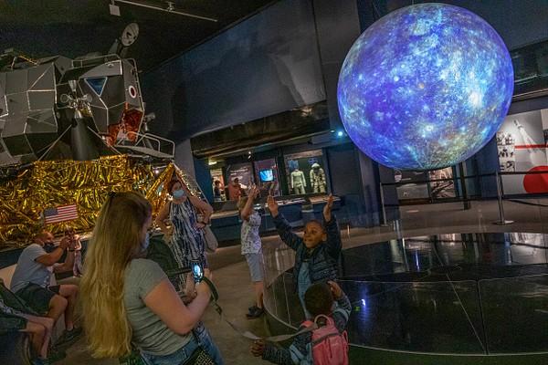 Museum Sains merupakan salah satu museum yang digemari anak-anak.