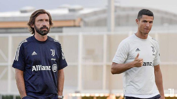 Andrea Pirlo dan Cristiano Ronaldo.