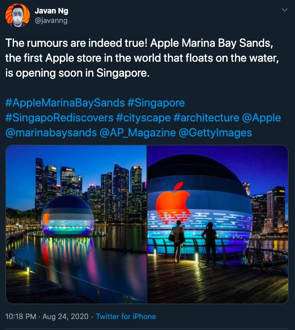 Apple Store Singapura