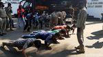 Bandel Tak Pakai Masker, Sopir Angkot di Bogor Dihukum Push Up