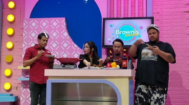 Chef Marinka di Brownis