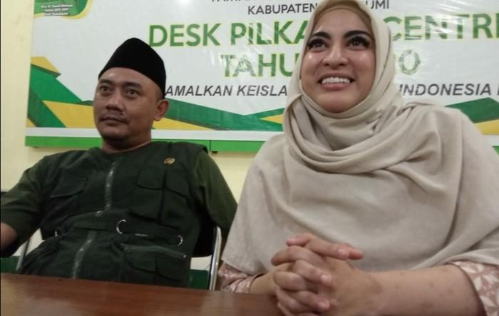 Jane Shalimar resmi jadi kader PPP Sukabumi