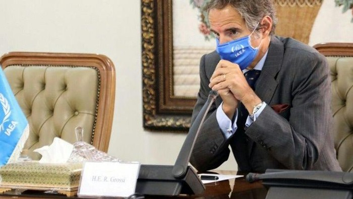 Kepala IAEA Rafael Marioano (AFP Photo)