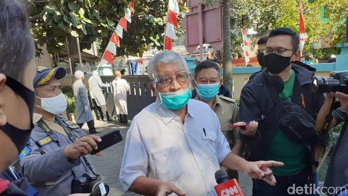 Ketua Tim Riset Vaksin dari Fakultas Kedokteran Universitas Padjadjaran (Unpad) Prof Kusnandi Rusmil