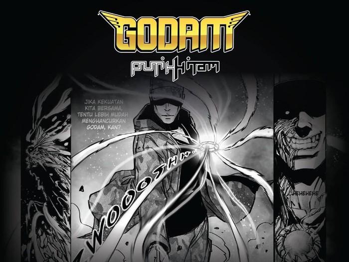 Komik Godam: Putih Hitam Vol.2 Diterbitkan oleh Bumilangit