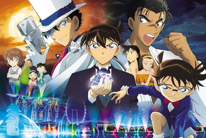 Manga Detective Conan: Fist of Blue Sapphire Terbit 25 September di Jepang