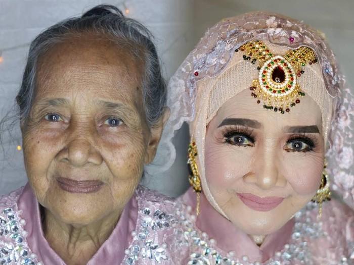 Nenek-nenek jadi cantik
