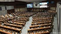 Paripurna Pengesahan RUU MK: 111 Anggota DPR Hadir Fisik, 280 Virtual