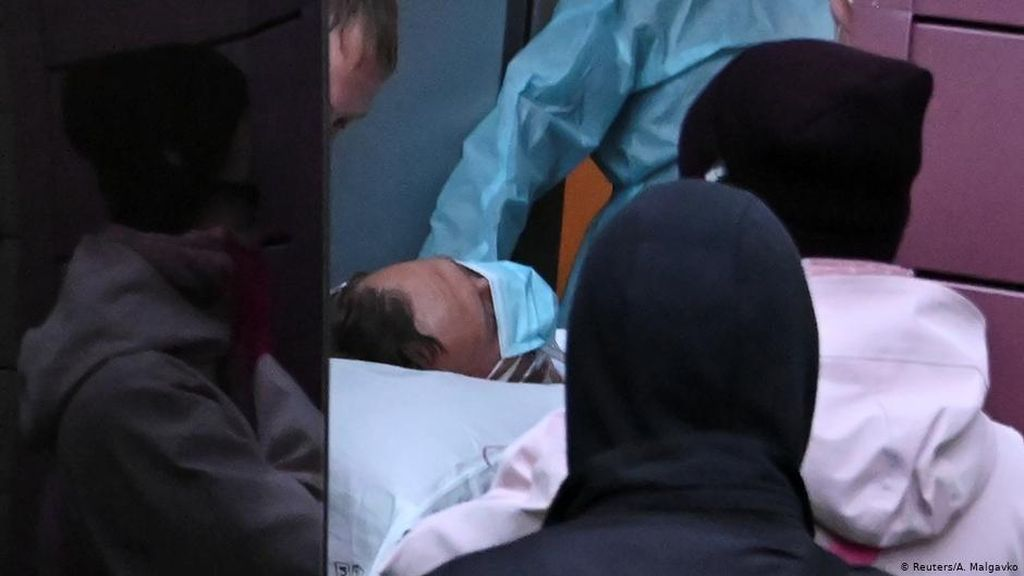 Penampakan Alexei Navalny Usai Koma Akibat Diracun
