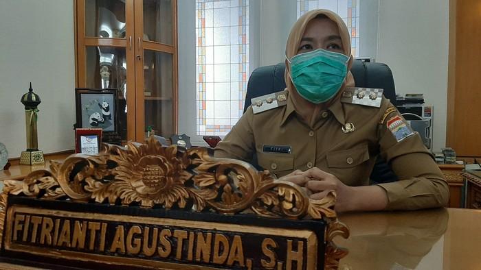 Wakil Wali Kota Palembang, Fitrianti Agustinda (Raja Adil-detikcom)