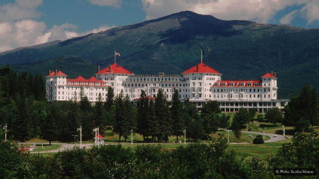 Ada Hotel Mewah di Kaki Gunung Washington, Begini Penampakannya