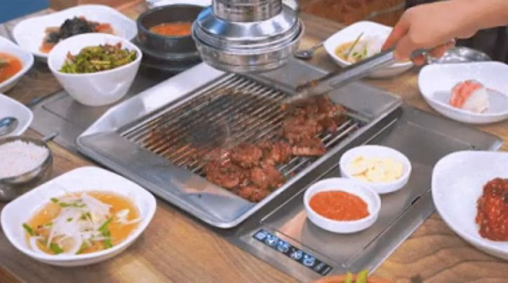 Alat Pemanggang Daging Canggih dari Korea Selatan