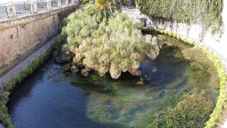 Arethusa Fountain