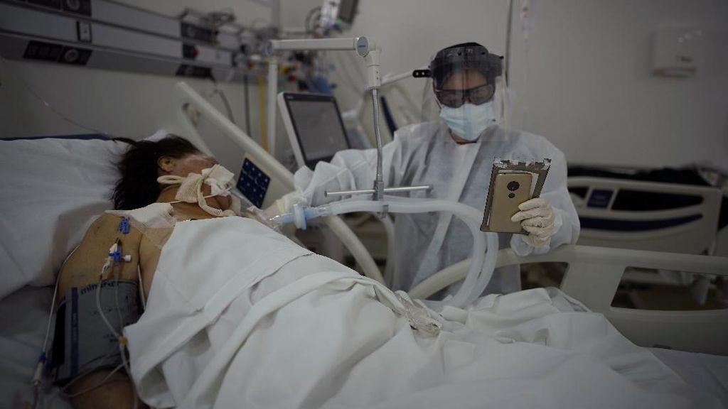 Kasus Corona di Argentina Melonjak, Rumah Sakit Penuh