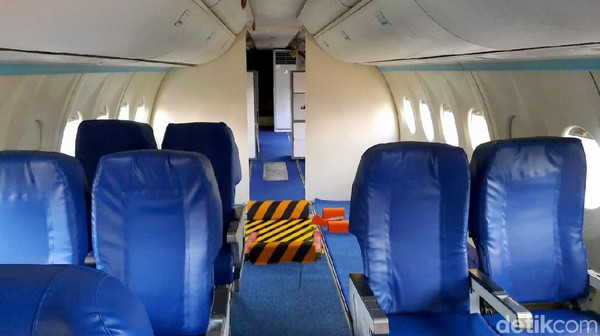 Seperti diketahui, burung besi ini adalah pesawat sipil N250 bernama Gatotkaca. Pesawat ini mulai dirancang bangun pada 1986. Pada 1995, pesawat tersebut berhasil mengudara di langit Indonesia.