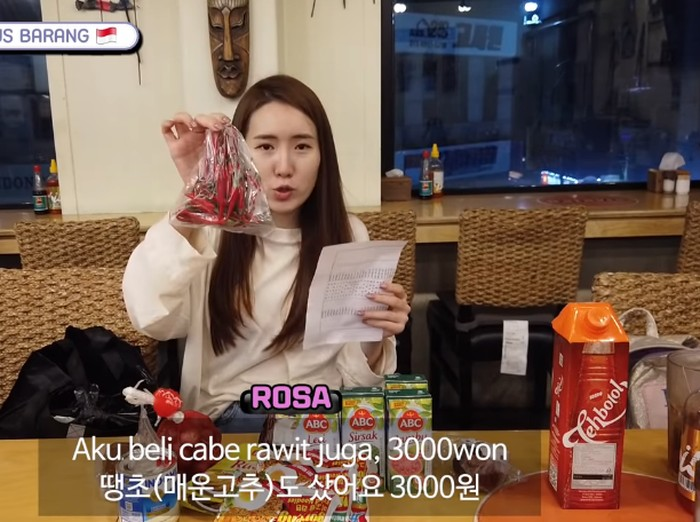 Harga Produk Indonesia yang Dijual di Korea Selatan