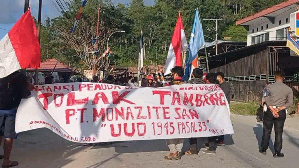 Aliansi Pemuda Demo Tolak Tambang Logam Tanah Jarang, Ini Kata Bupati Mamasa