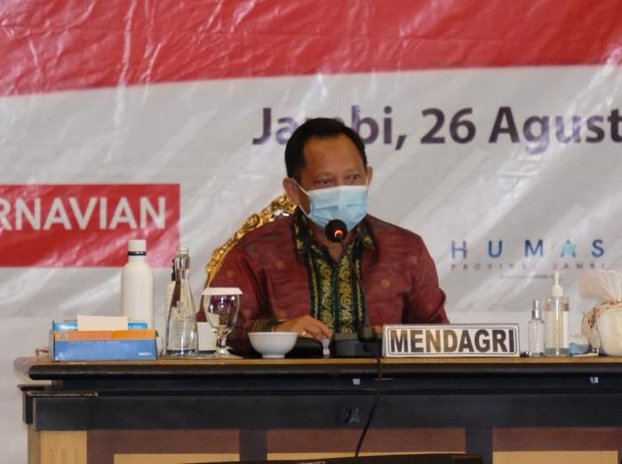 Mendagri Tito Karnavian di Jambi (Ferdi-detikcom)