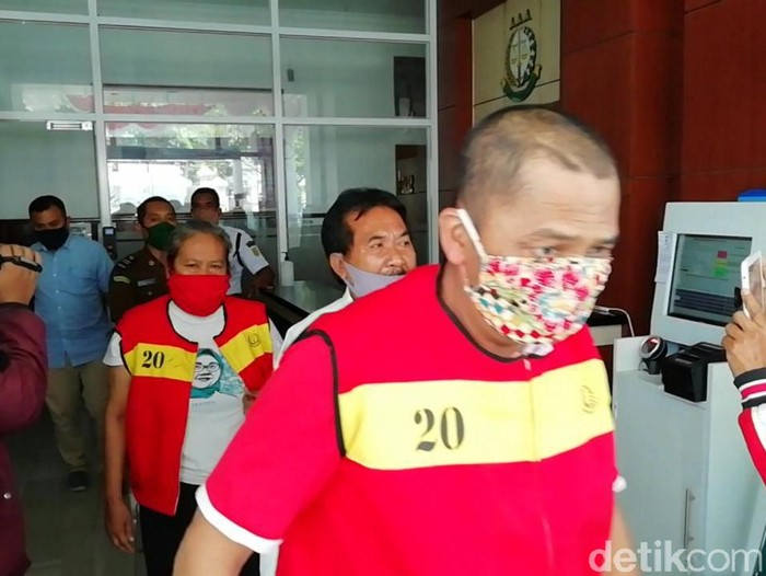 Pasutri di Sragen ditahan gegara dugaan suap penerimaan perangkat desa, Rabu (26/8/2020).