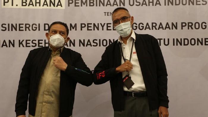 PT Bahana Pembinaan Usaha Indonesia (Persero) dan BPJS Kesehatan melakukan kerja sama dalam rangka kolaborasi untuk terciptanya integrasi yang bermanfaat.