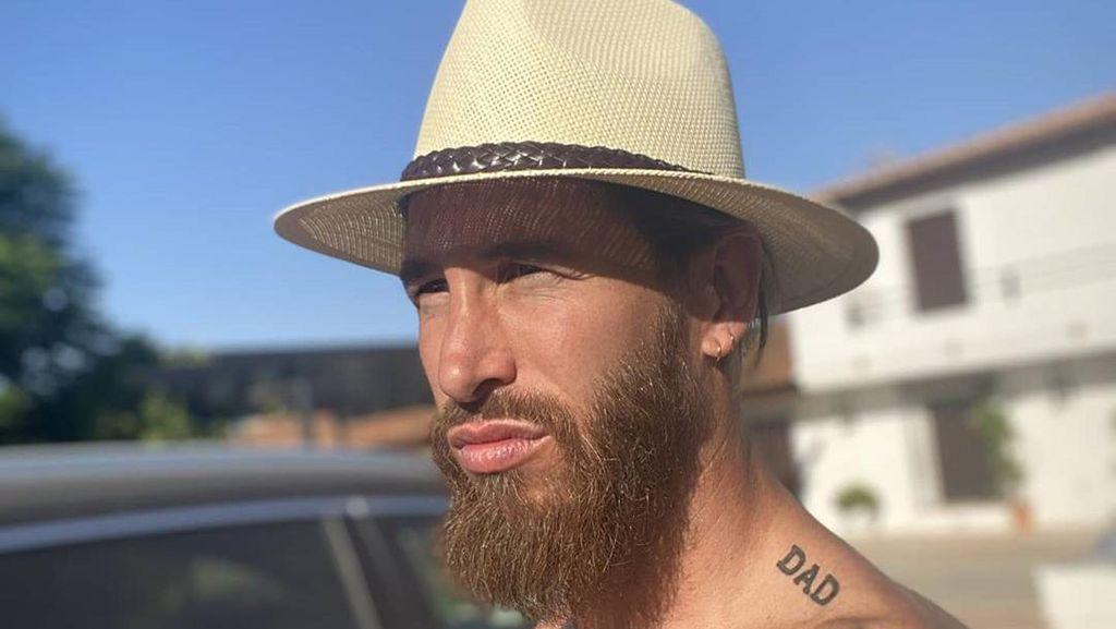 Sergio Ramos Tak Lupa Olahraga Saat Liburan, Ini Buktinya