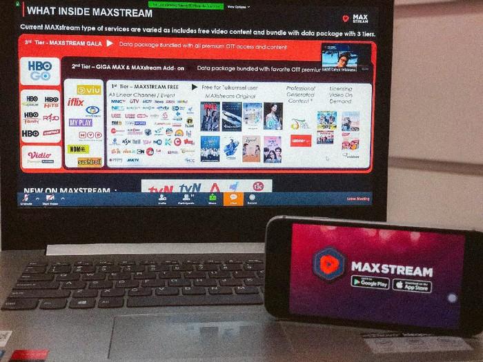 Untuk menghadirkan konten yang beragam di platform video on demand MAXstream, Telkomsel menghadirkan konser musik digital hingga wisuda online.