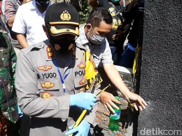 TKP pembunuhan 4 orang sekeluarga di Sukoharjo dibuka, Rabu (26/8/2020).