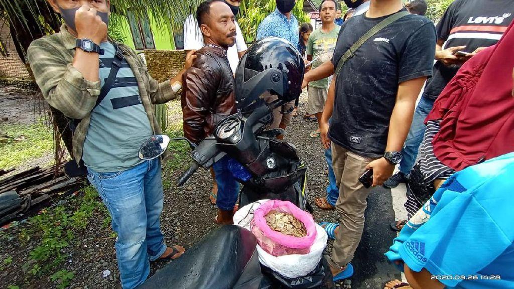 Pria di Agam Ditangkap BKSDA Sumbar, 8 Kg Sisik Trenggiling Disita