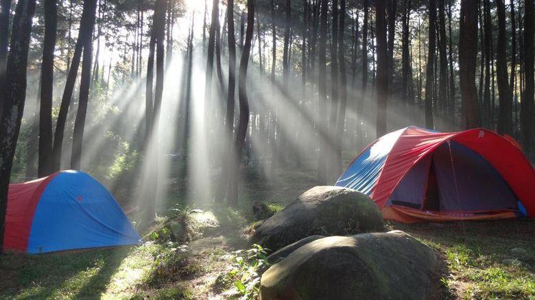 Camping ground Gunung Pancar