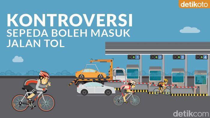 Wacana Sepeda Boleh Masuk Jalan Tol