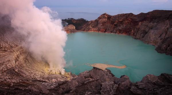 Dalam proyek ini, Kabupaten Bondowoso bekerja sama dengan Banyuwangi. Dua kabupaten ini telah menyepakati usulan itu dengan nama Ijen Geopark. Selanjutnya akan diusulkan ke pemerintah pusat dan UNESCO, sebagai UNESCO Global Geopark (UGG). Getty Images/Ulet Ifansasti